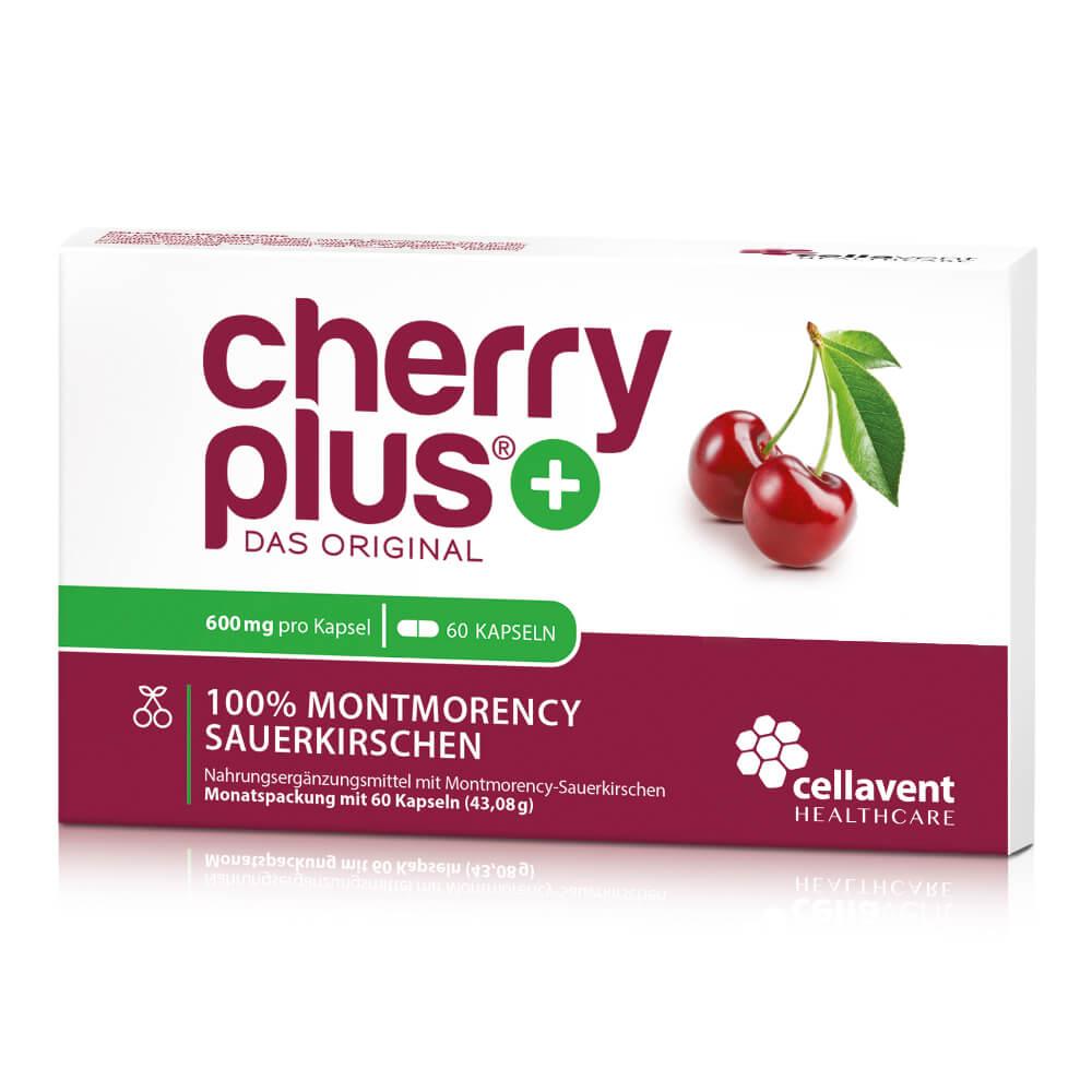 Cherry PLUS Kapseln Packung