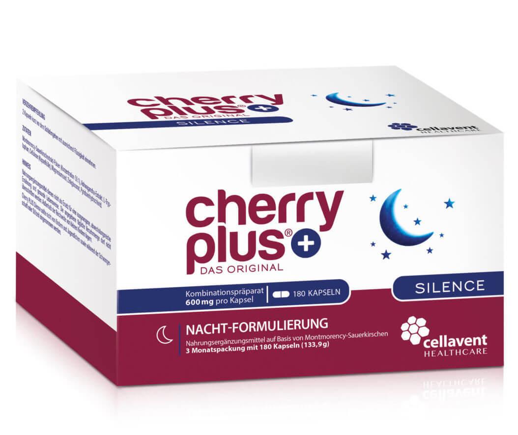 Cherry Plus Silence Kapseln 180 Stück für mehr innere Ruhe in der Nacht